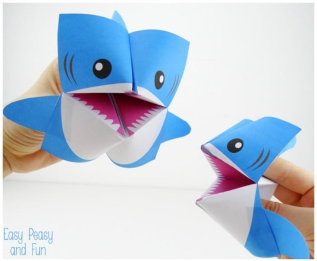 Printable-Shark-Cootie-Catcher